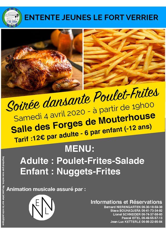 SOIRÉE DANSANTE POULET - FRITES