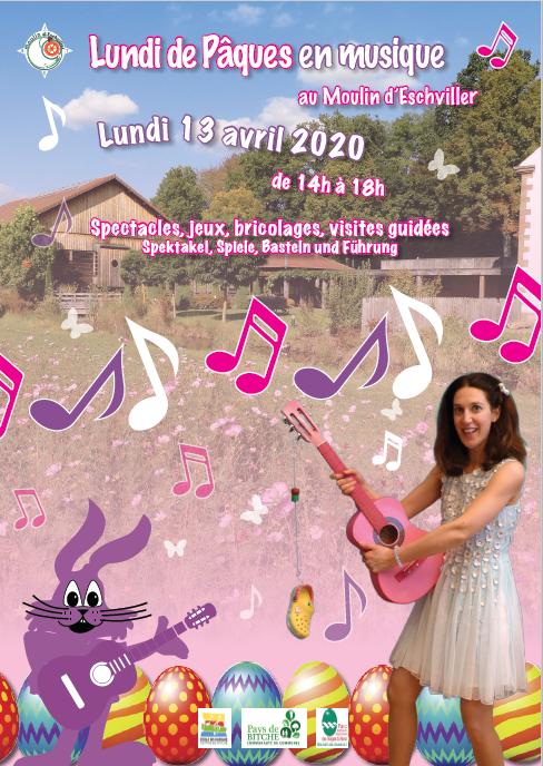 "PÂQUES ""UN APRÈS MIDI FESTIF AU MOULIN D'ESCHVILLER"""
