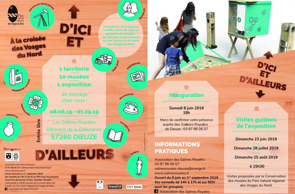 EXPOSITION D'ICI ET D'AILLEURS