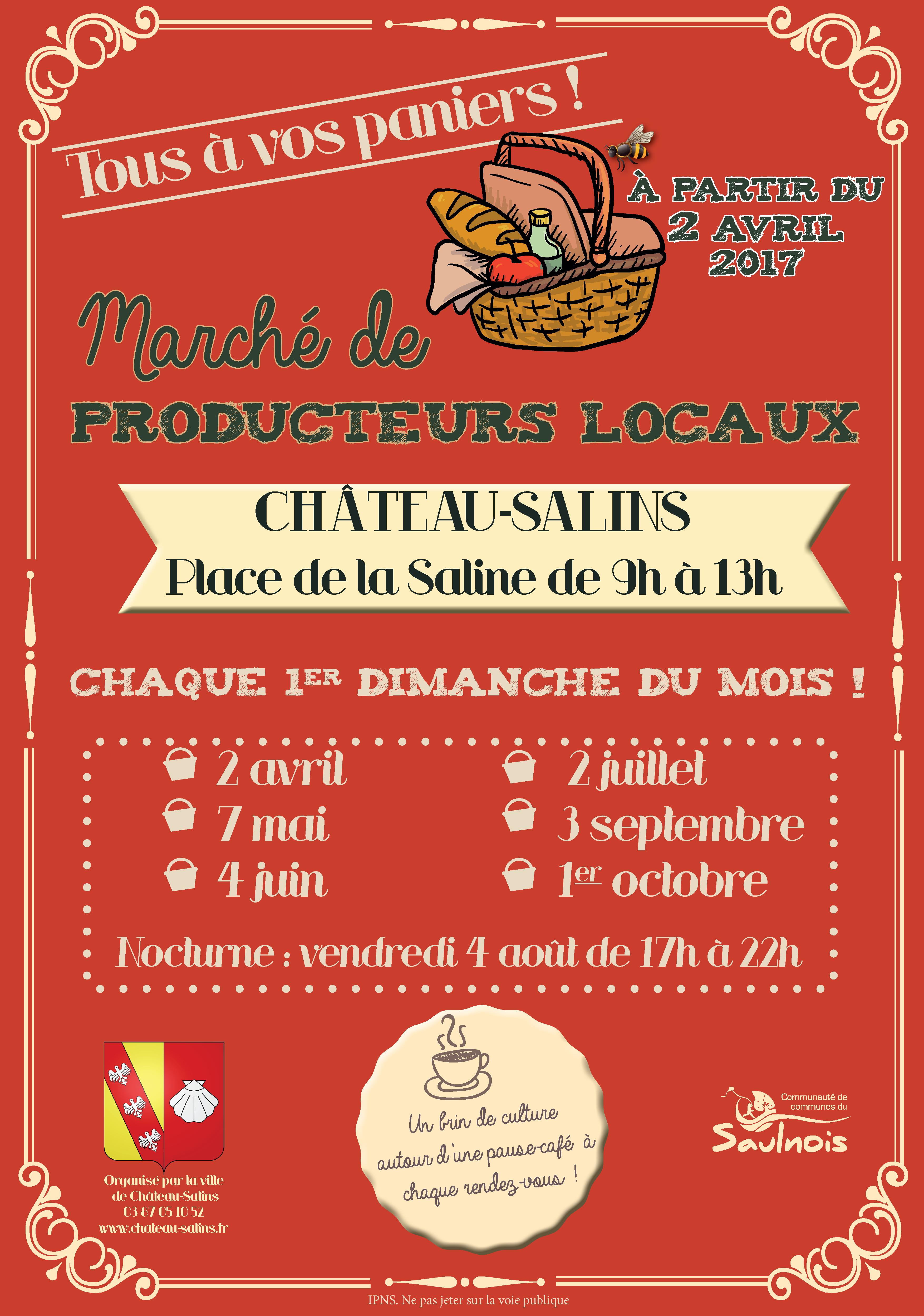 MARCHE DE PRODUCTEURS LOCAUX