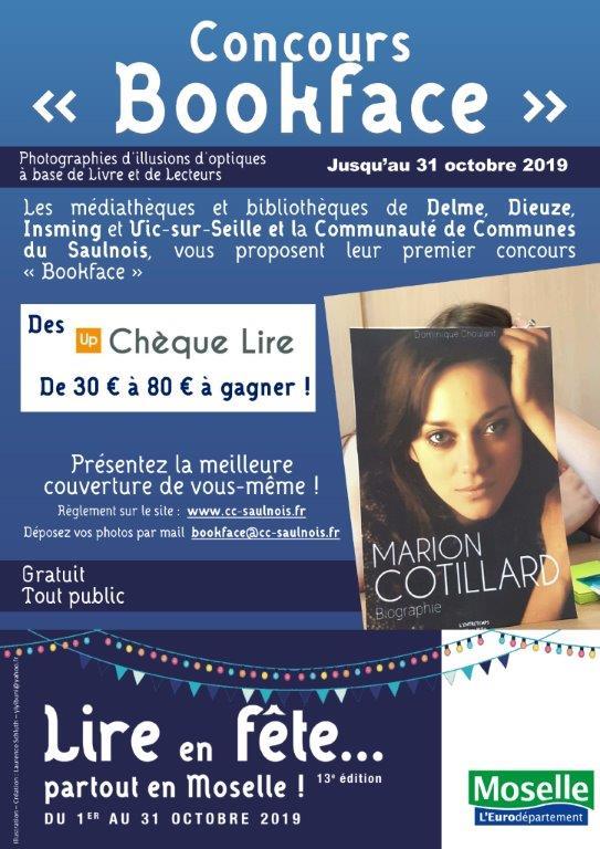LIRE EN FÊTE : GRAND JEU CONCOURS DU SAULNOIS - BOOKFACE