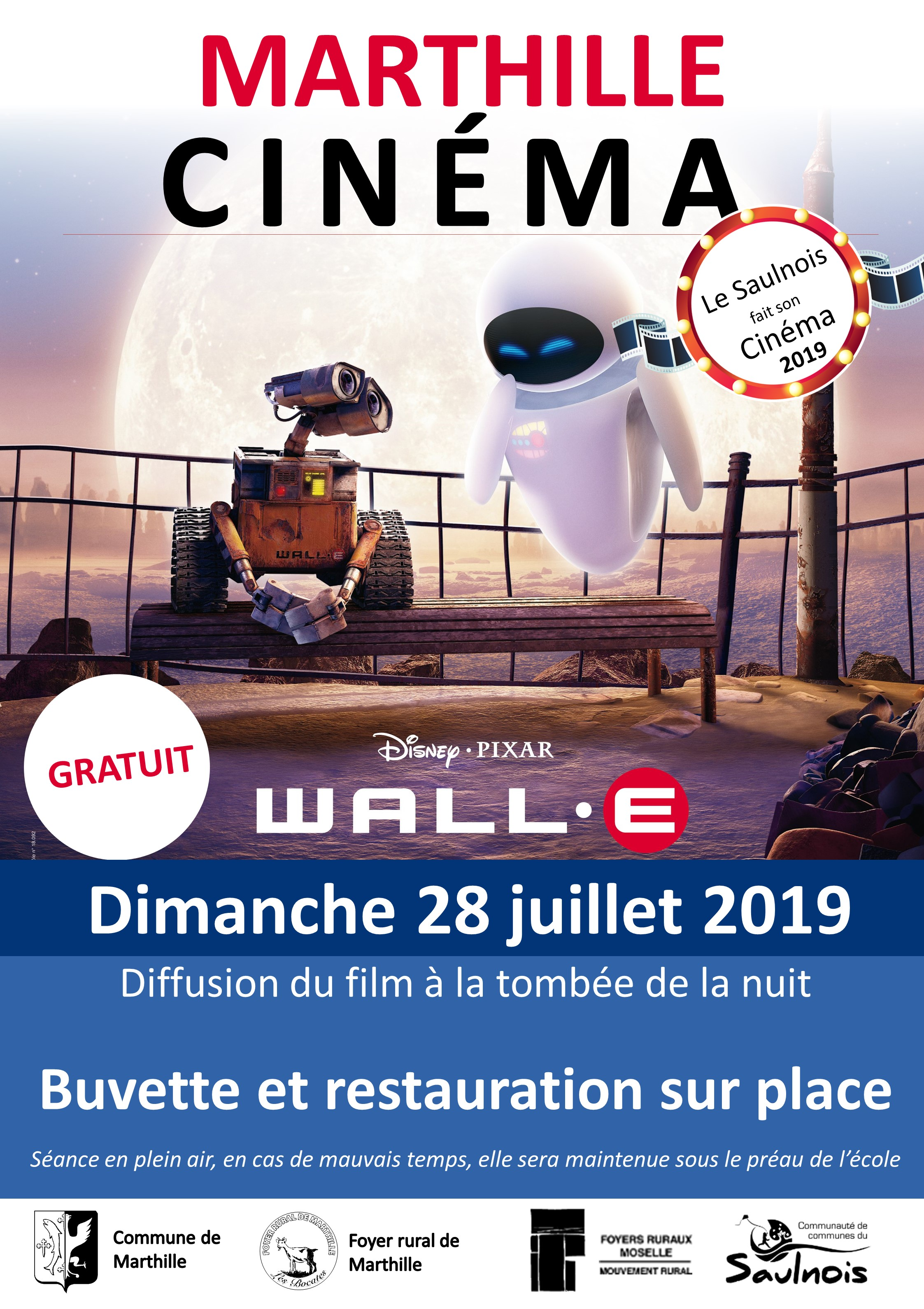 LE SAULNOIS FAIT SON CINEMA: WALL-E