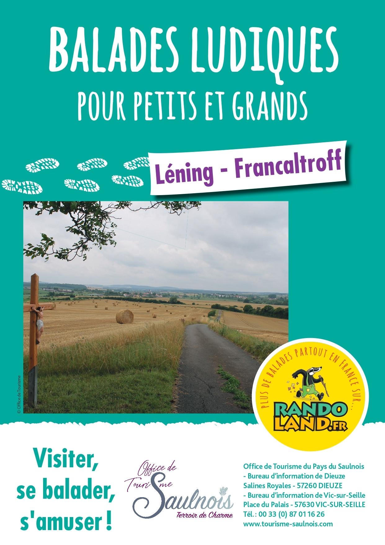 BALADES LUDIQUES-LENING- FRANCALTROFF