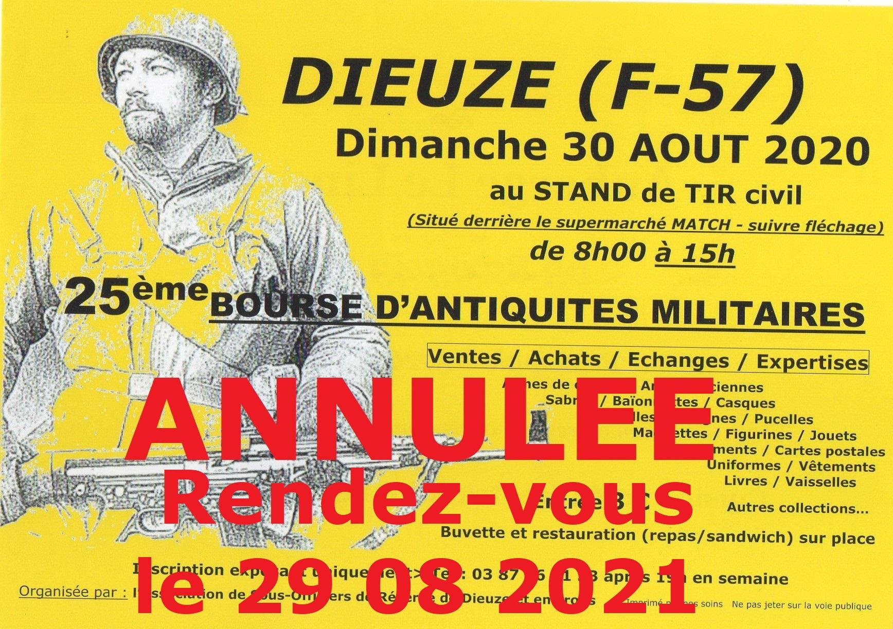 23ÈME BOURSE AUX ANTIQUITÉS MILITAIRES