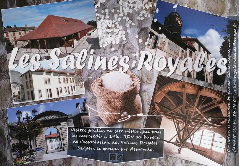 VISITE GUIDÉE DU SITE HISTORIQUE DES SALINES ROYALES