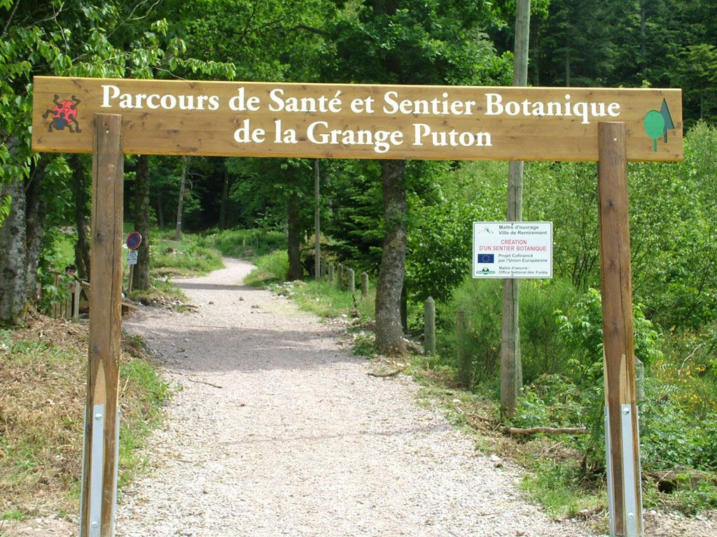 Le parcours de sante remiremont 88200 sports loisirs f88 fr - Office du tourisme remiremont ...