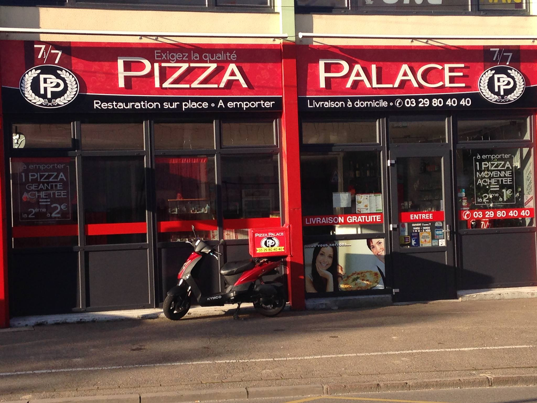 PIZZERIA PIZZA PALACE