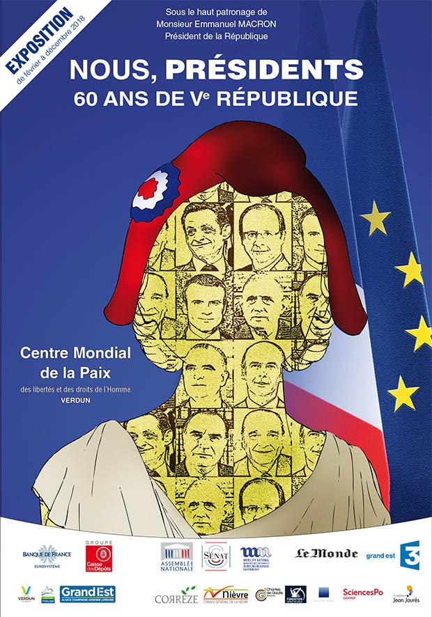 EXPOSITION | NOUS PRÉSIDENTS - 60 ANS DE VE RÉPUBLIQUE