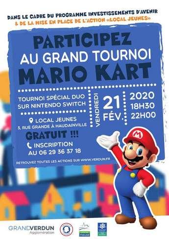 TOURNOI MARIO KART
