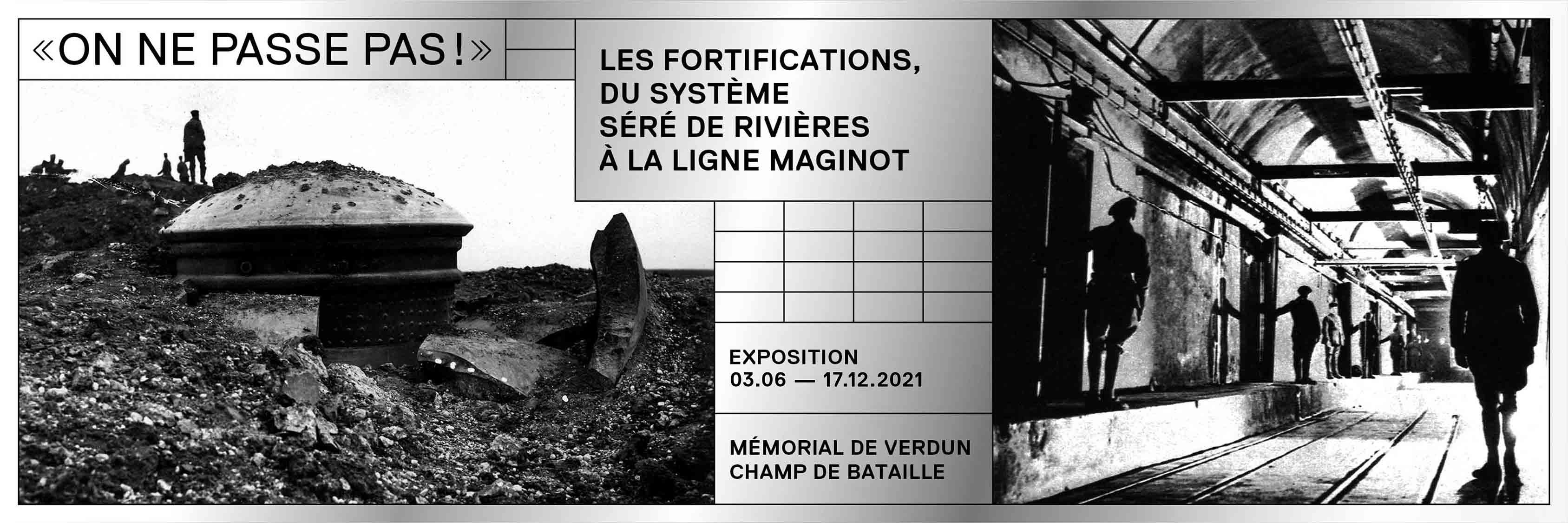EXPOSITION |« ON NE PASSE PAS ! » LES FORTIFICATIONS, DU SYSTÈME SÉRÉ DE RIVIÈRES À LA LIGNE MAGINOT