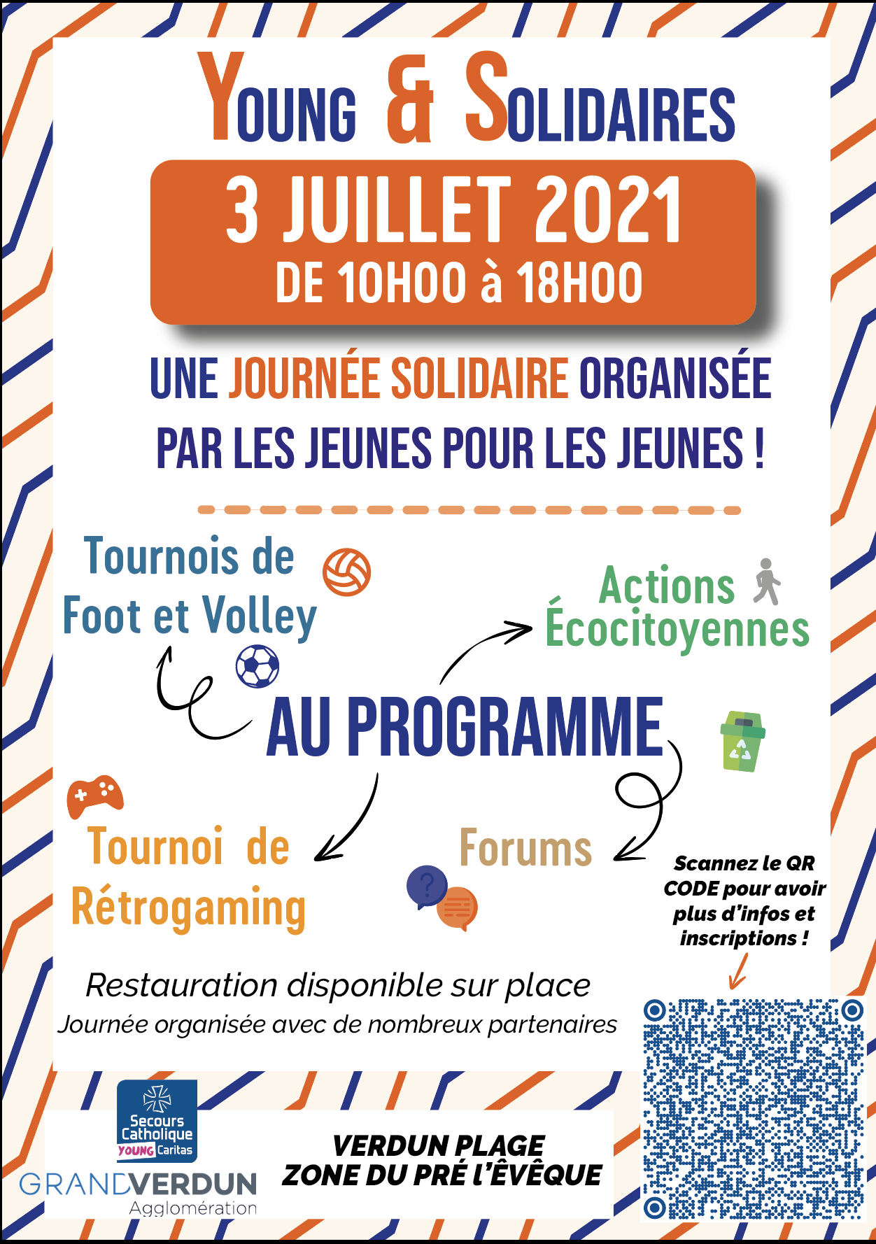 JOURNÉE SOLIDAIRE |YOUNG&SOLIDAIRE