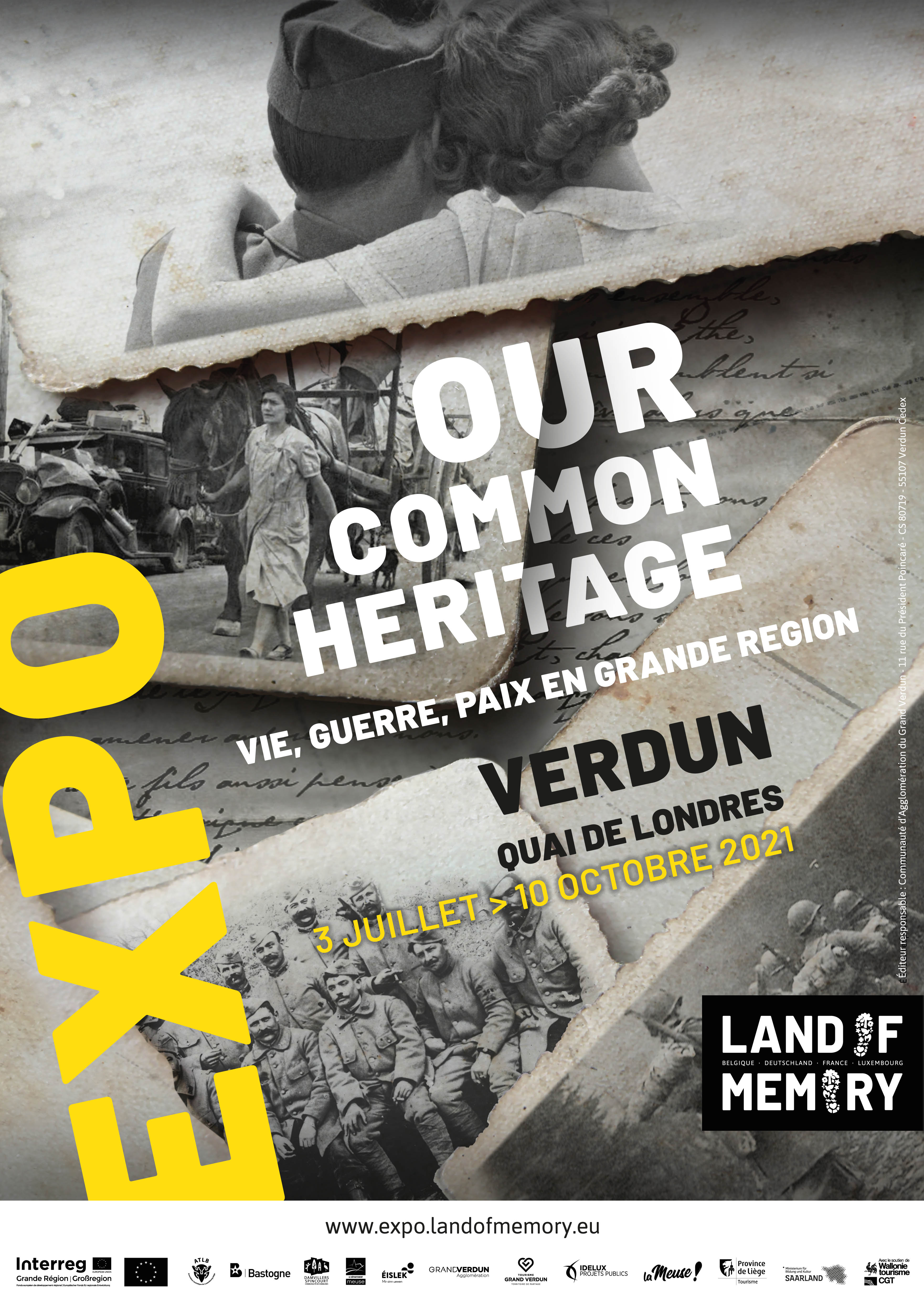 """EXPOSITION LAND OF MEMORY """"OUR COMMON HERITAGE"""""""