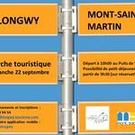 Nancy : MARCHE TOURISTIQUE - DE LONGWY À MONT SAINT MARTIN