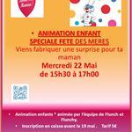 Nancy : ANIMATION ENFANT - FÊTE DES MÈRES