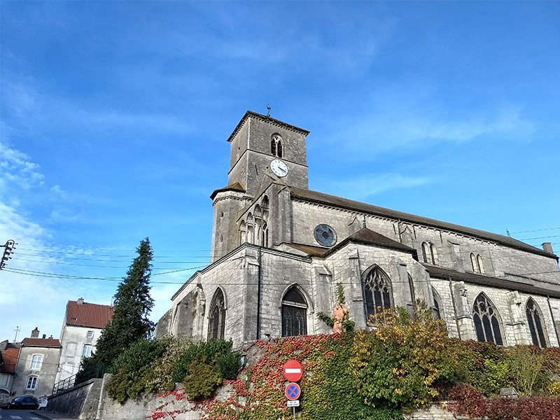 THE CHURCH OF SAINT-CHRISTOPHER