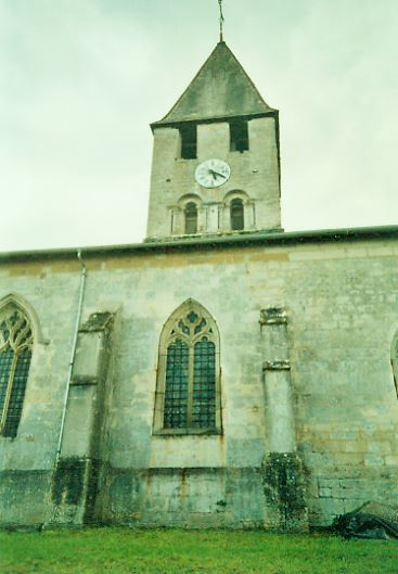 L'EGLISE SAINT-LAURENT – VOUXEY