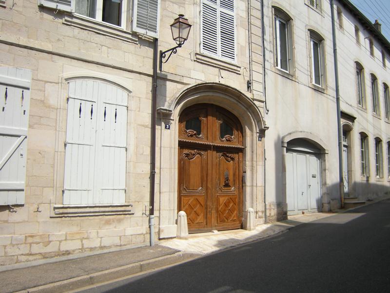 VISITE DE L'HÔTEL COLLENEL