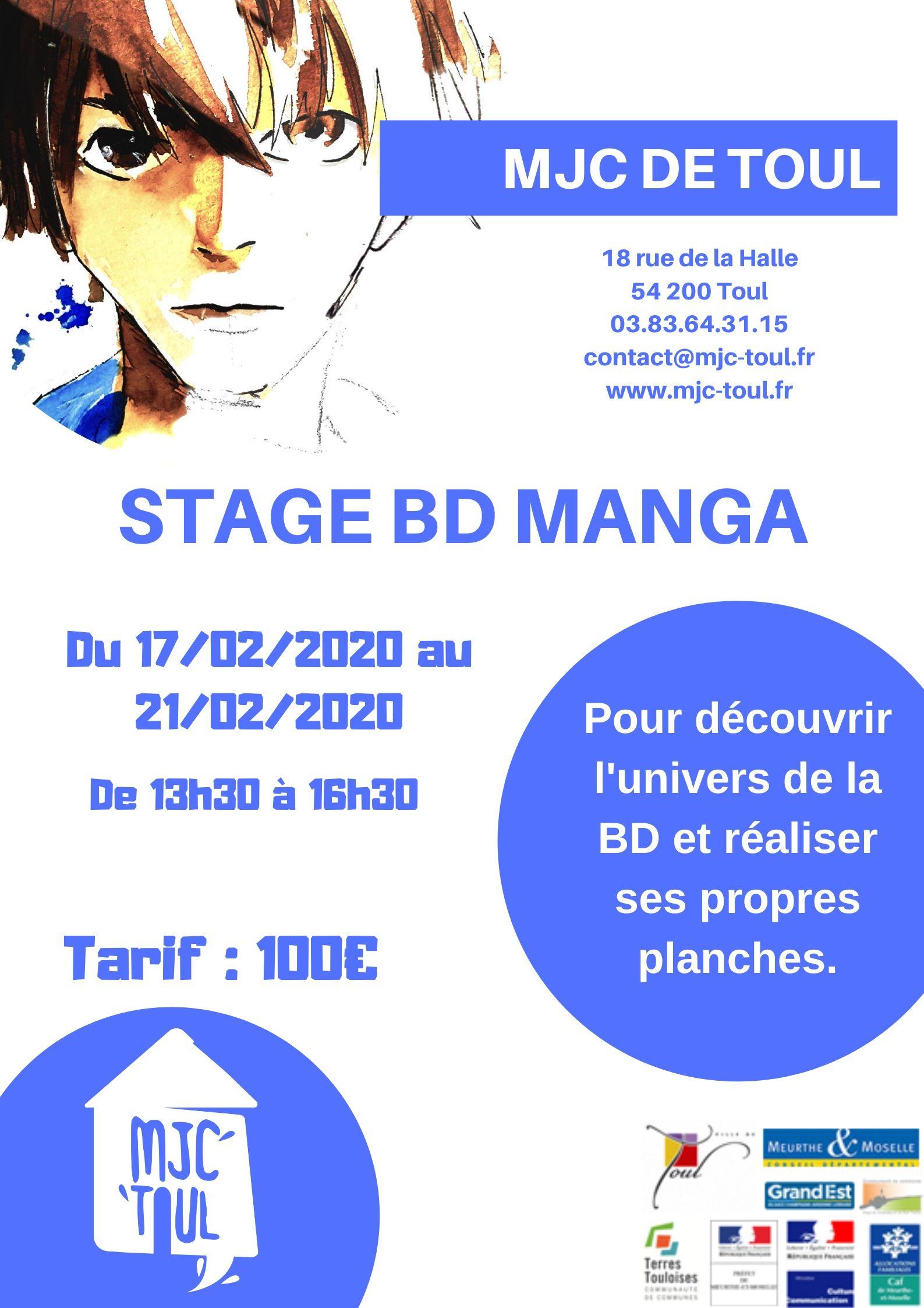 STAGE BD MANGA