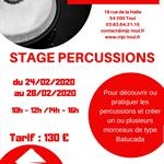 Nancy : STAGE PERCUSSIONS