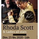 Nancy : RHODA SCOTT & LADIES ALL STARS