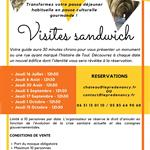 Nancy : VISITES SANDWICH