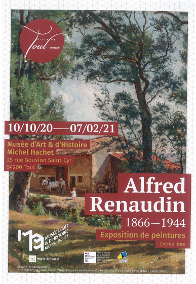 EXPOSITION ALFRED RENAUDIN : 1870 - 1944